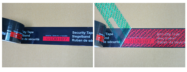 Customise Security Tape