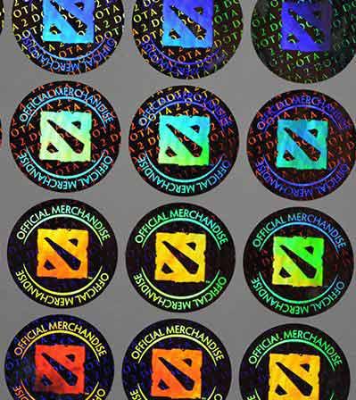 VOID Hologram Sticker