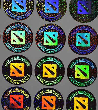 Application Area Of Hologram Sticker