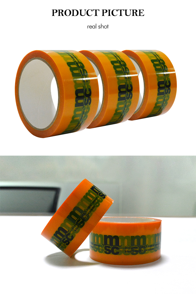 Anti Tamper Custom Printed Security Tape
