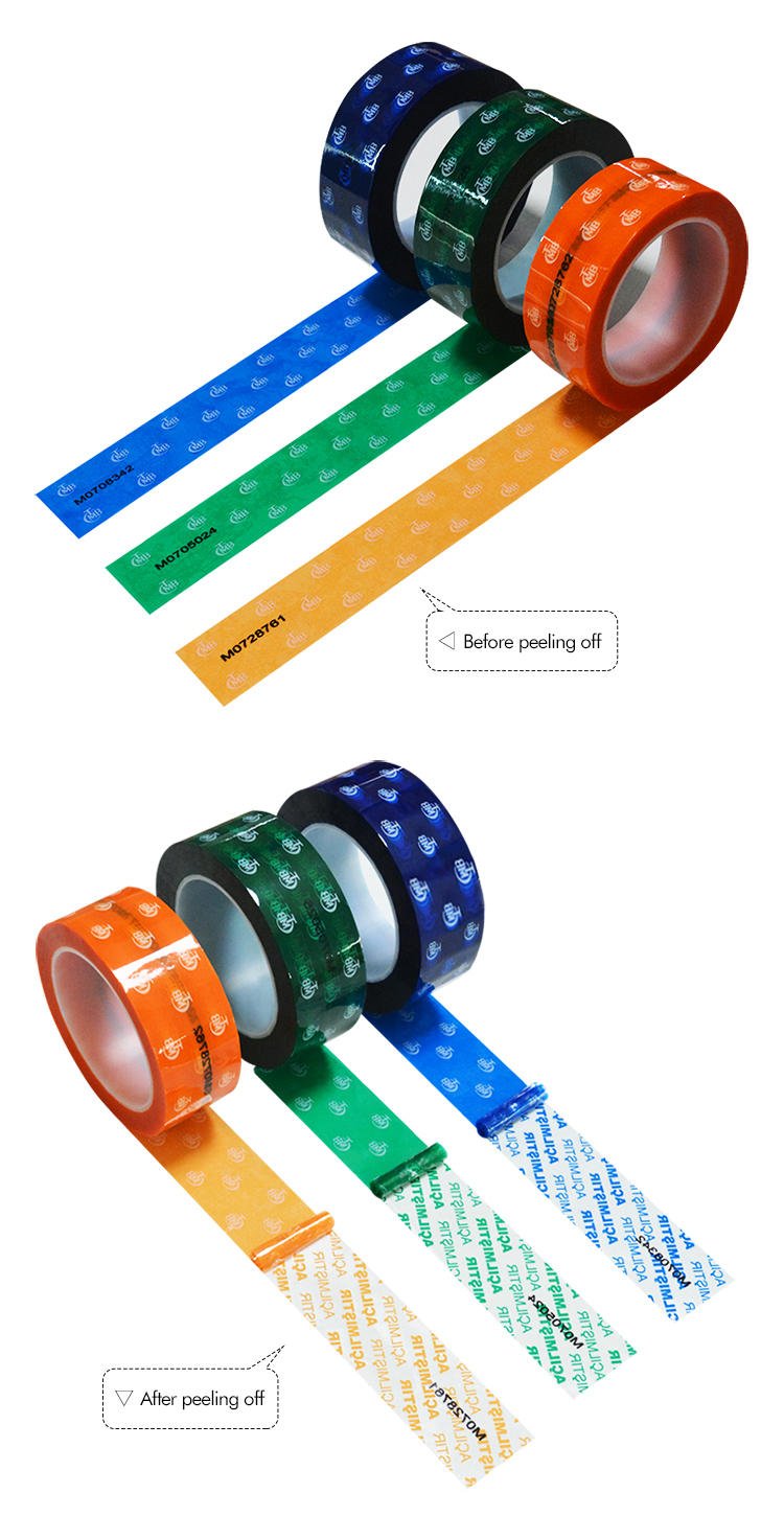 Security Packaging Tape