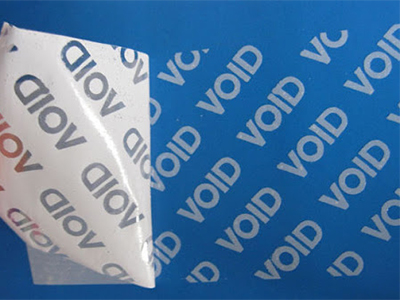 What is Security Void Labels?