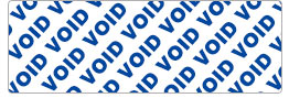 Tamper Proof Void Tape
