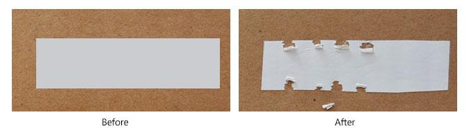 Destructible Sticker