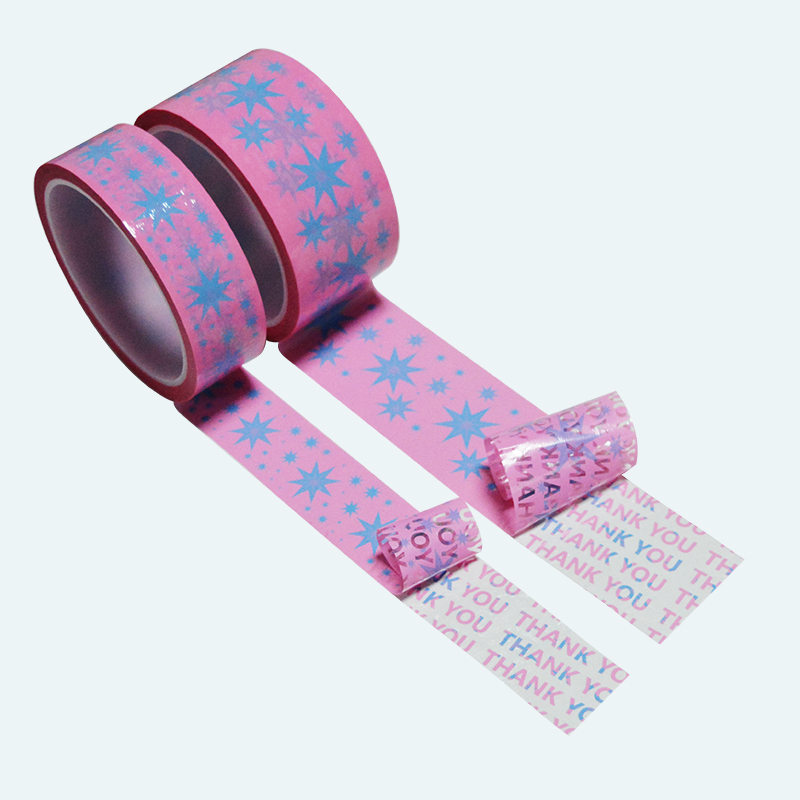 ZOLO New Design High-end Gift Box Security Sealing Tape