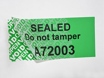 What Are The Application Areas Of Self-adhesive Security Sticker?