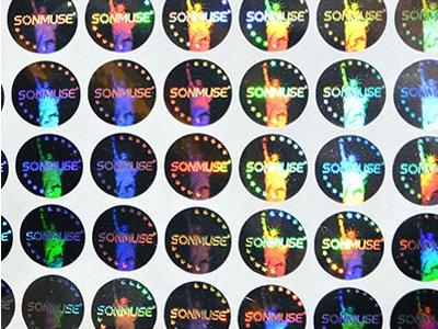 Various Kinds of Hologram Sticker Description