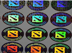 Lasering Hologram Sticker Has A Good Anti-counterfeiting Effect