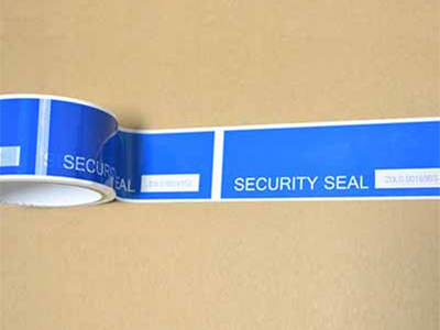 Tamper Evident Security Tape Function