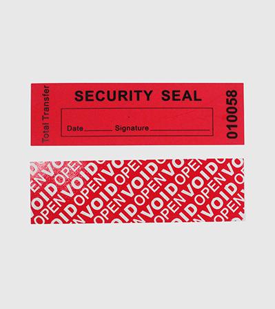 Security Label Sticker