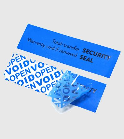 Security Void Sticker